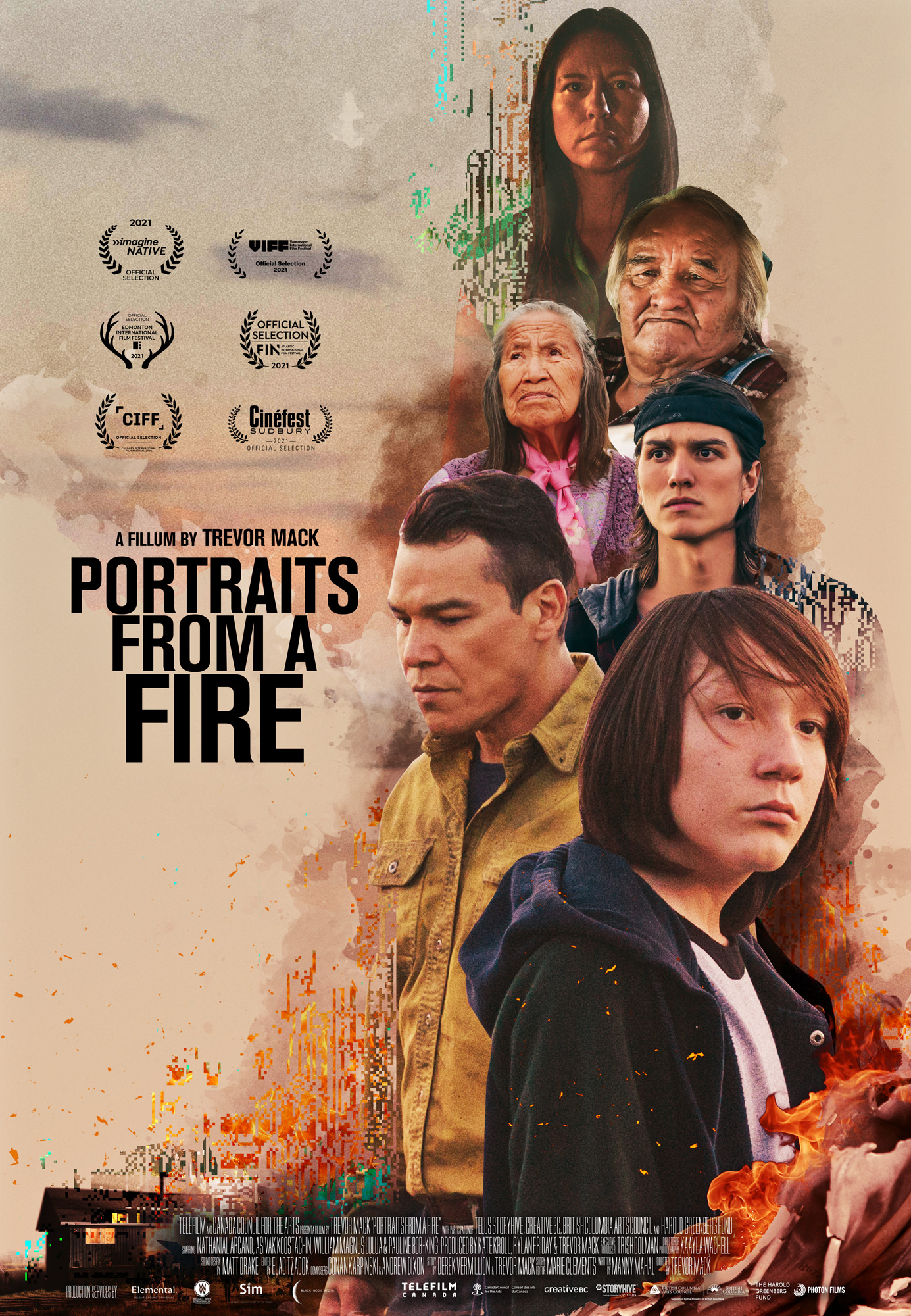 Portraits From a Fire